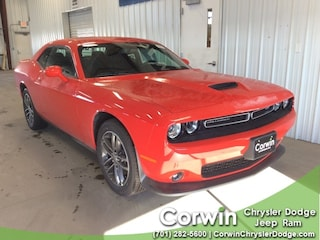 New 2019 Dodge Challenger GT AWD Coupe dealer in Fargo ND - inventory