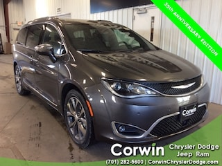New 2020 Chrysler Pacifica 35TH ANNIVERSARY LIMITED Passenger Van dealer in Fargo ND - inventory