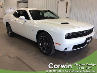 New 2018 Dodge Challenger GT ALL-WHEEL DRIVE Coupe dealer in Fargo ND - inventory
