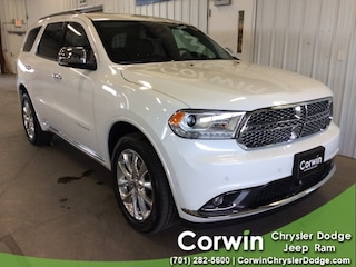 New 2019 Dodge Durango CITADEL AWD Sport Utility dealer in Fargo ND - inventory