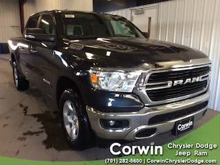 New 2019 Ram 1500 BIG HORN / LONE STAR CREW CAB 4X4 5'7 BOX Crew Cab dealer in Fargo ND - inventory