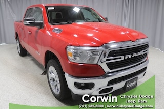 New 2020 Ram 1500 BIG HORN CREW CAB 4X4 5'7 BOX Crew Cab dealer in Fargo ND - inventory