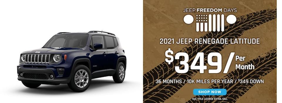 Jeep Renegade Latitude Lease