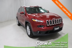 Certified Pre-Owned 2017 Jeep Cherokee Latitude 4x4 SUV dealer in Fargo - inventory