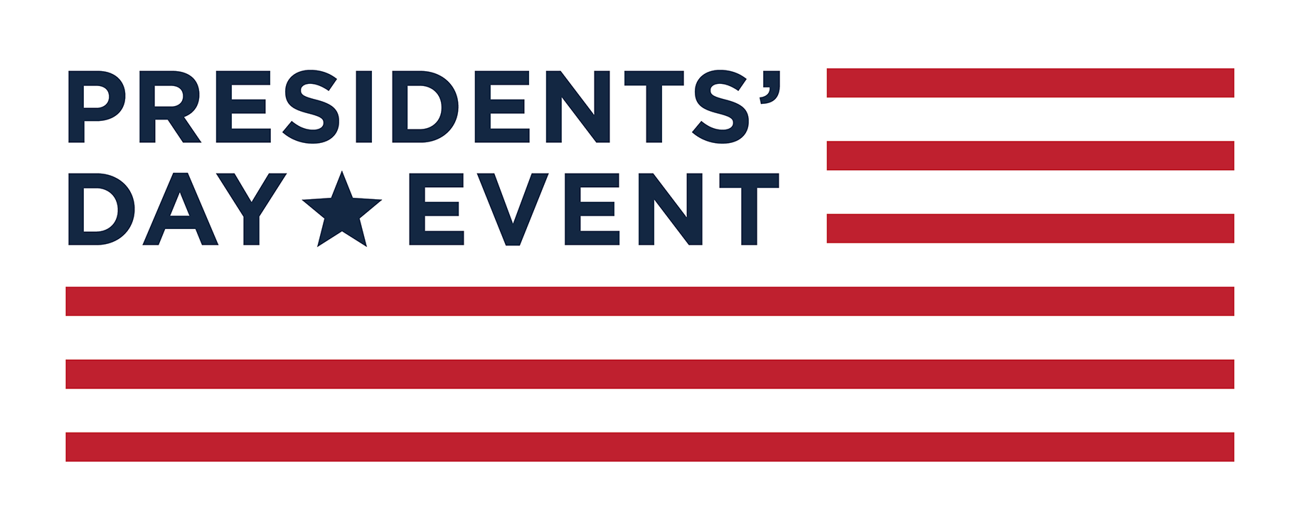 Presidents Day Sales Event logo