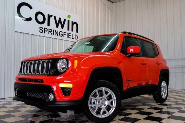 New 2019 Jeep Renegade LATITUDE 4X4 Sport Utility Springfield, MO