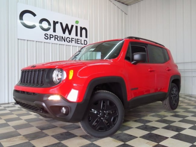 New 2018 Jeep Renegade UPLAND 4X4 Sport Utility Springfield, MO