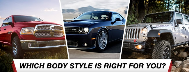 Which Body Style Is Right For You Corwin Corwin Chrysler Dodge