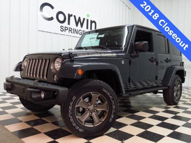 New 2018 Jeep Wrangler JK UNLIMITED GOLDEN EAGLE 4X4 Sport Utility Springfield, MO