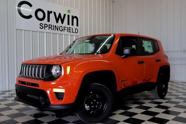 New 2019 Jeep Renegade SPORT 4X4 Sport Utility Springfield, MO