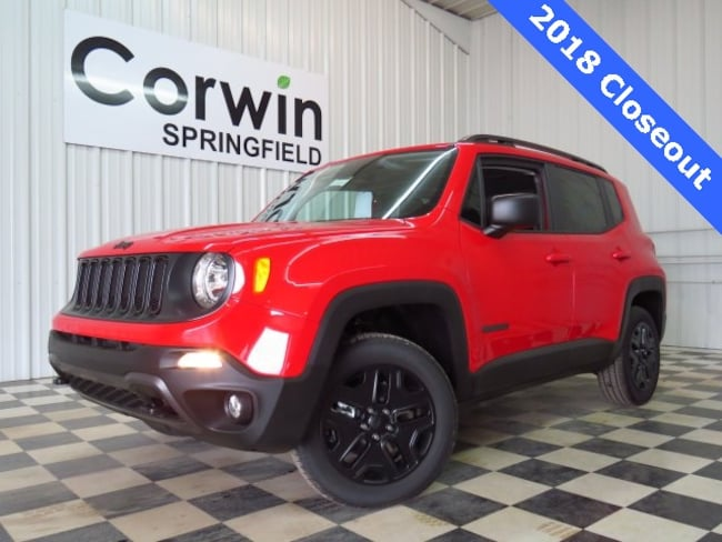 New 2018 Jeep Renegade UPLAND 4X4 Sport Utility Springfield, MO
