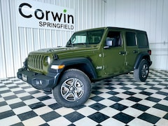 New 2021 Jeep Wrangler UNLIMITED SPORT S 4X4 Sport Utility for sale in Springfield, MO