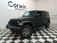 New 2020 Jeep Wrangler UNLIMITED BLACK AND TAN 4X4 Sport Utility for sale in Springfield, MO