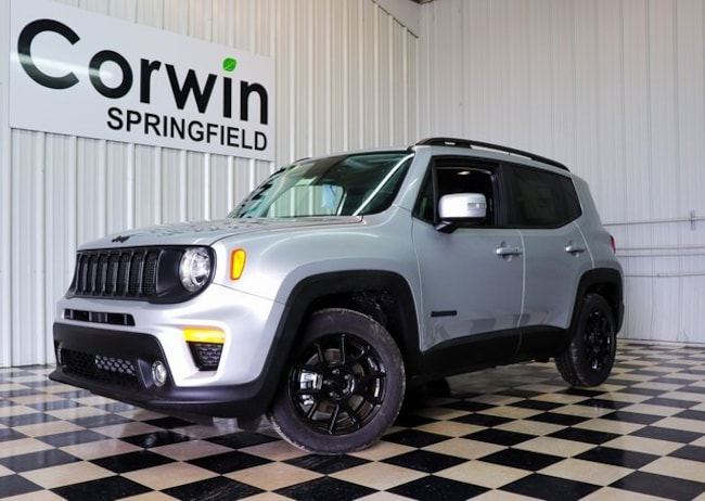 New 2019 Jeep Renegade ALTITUDE FWD Sport Utility Springfield, MO