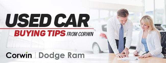 Used Car Buying Tips - Corwin