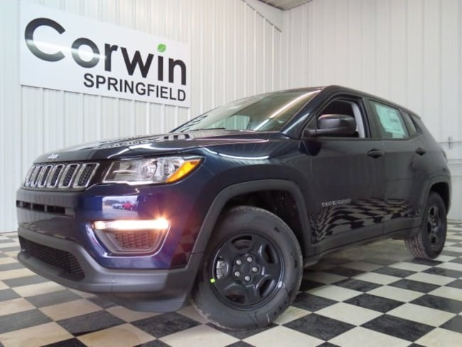New 2019 Jeep Compass SPORT FWD Sport Utility Springfield, MO