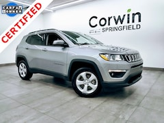 Certified Pre-Owned 2018 Jeep Compass Latitude 4x4 SUV 3C4NJDBB9JT307129 for sale in Springfield, MO