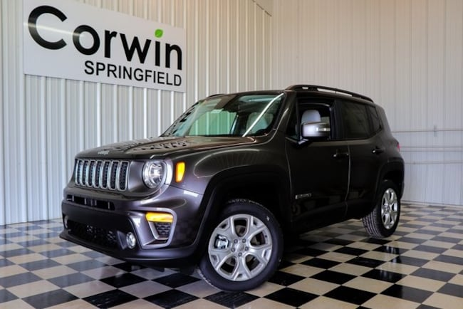 New 2019 Jeep Renegade LIMITED 4X4 Sport Utility Springfield, MO