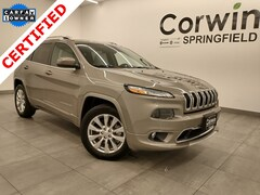 Certified Pre-Owned 2017 Jeep Cherokee Overland 4x4 SUV 1C4PJMJSXHW590980 for sale in Springfield, MO