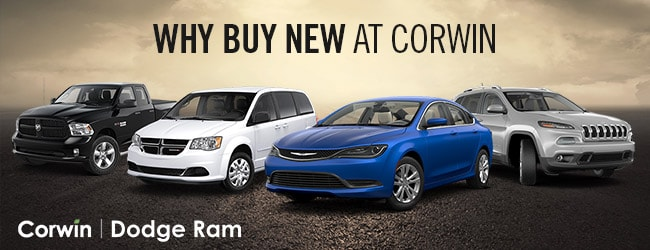 Why Buy New - Corwin Lineup