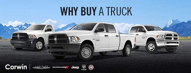Buy A Truck >> Why Buy A 2017 Ram 1500 Corwin Corwin Chrysler Dodge Jeep Ram