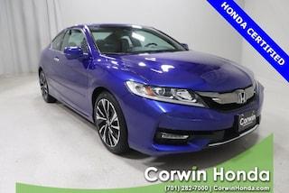 Used 2017 Honda Accord EX-L w/Navi & Honda Sensing Coupe in Fargo, ND