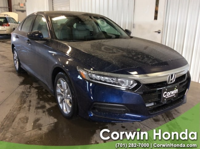 New 2019 Honda Accord LX Sedan in Fargo, North Dakota