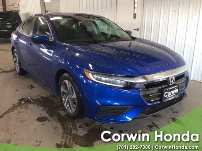 New 2019 Honda Insight LX Sedan in Fargo, North Dakota