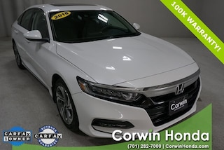 Used 2018 Honda Accord EX Sedan in Fargo, ND