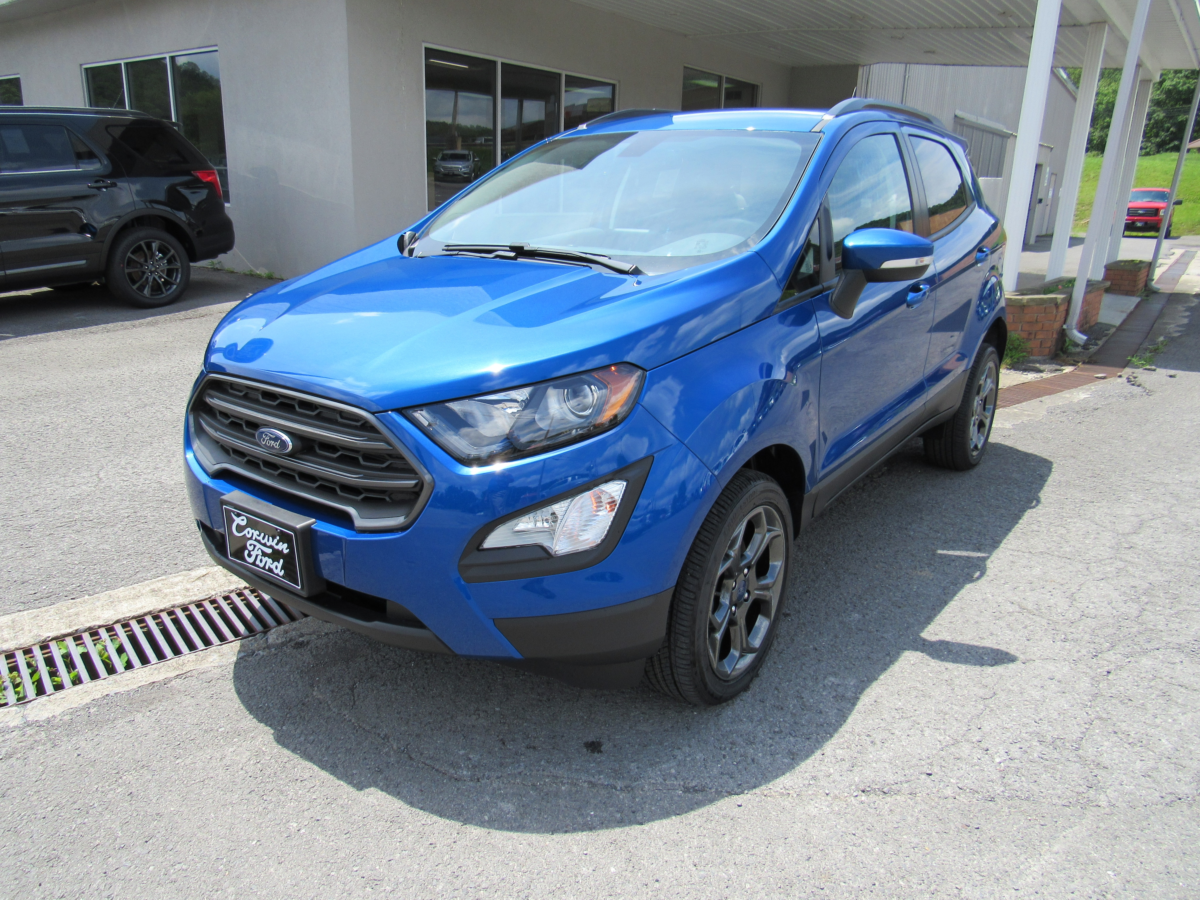Awesome 2018 Ford EcoSport SES SUV