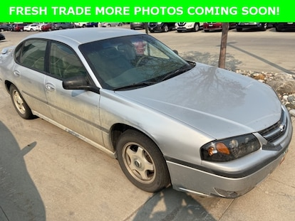 Used 2000 Chevrolet Impala For Sale At Corwin Public Wholesale Of Fargo Vin 2g1wh55k4y9185559