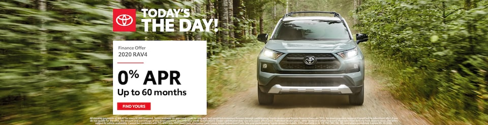 RAV4 APR Offer