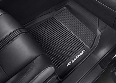 Genuine Toyota All-Weather Floor Mats