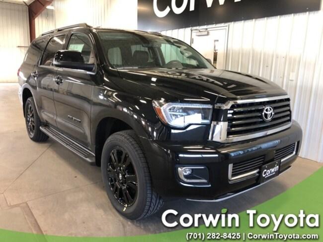 New 2019 Toyota Sequoia TRD Sport SUV in Fargo, North Dakota