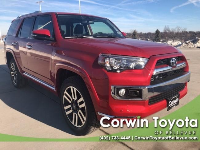 New 2019 Toyota 4Runner Limited SUV in Bellevue, NE