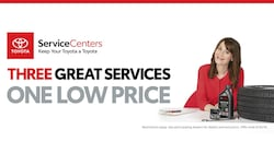 Three great services. One low price.