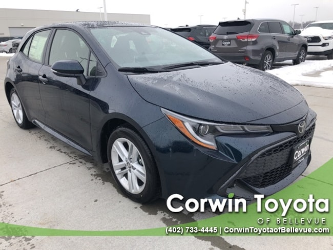 New 2019 Toyota Corolla Hatchback SE Hatchback in Bellevue, NE