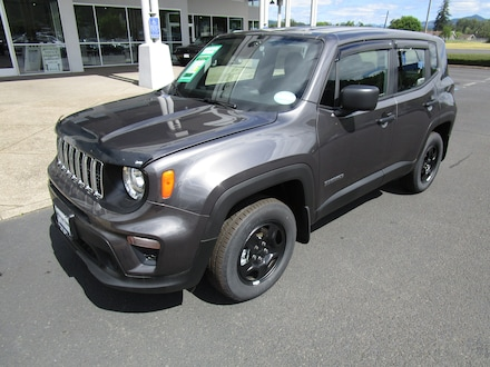 Featured New 2020 Jeep Renegade SPORT 4X4 Sport Utility for Sale in Cottage Grove, OR
