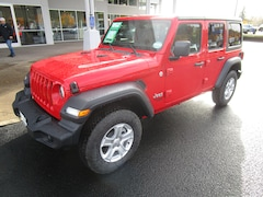 New 2020 Jeep Wrangler UNLIMITED SPORT S 4X4 Sport Utility for Sale in Cottage Grove, OR