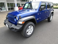 New 2020 Jeep Wrangler UNLIMITED SPORT S 4X4 Sport Utility LW293316 for Sale in Cottage Grove, OR