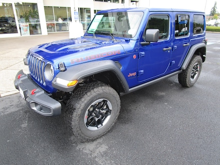 Featured New 2020 Jeep Wrangler UNLIMITED RUBICON 4X4 Sport Utility for Sale in Cottage Grove, OR