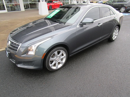 Featured Used 2013 CADILLAC ATS 2.0L Turbo Luxury Sedan for Sale in Cottage Grove, OR