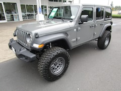 New 2020 Jeep Wrangler UNLIMITED SPORT S 4X4 Sport Utility LW310655 for Sale in Cottage Grove, OR