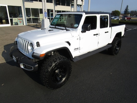 Featured New 2020 Jeep Gladiator OVERLAND 4X4 Crew Cab for Sale in Cottage Grove, OR