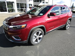 New 2019 Jeep Cherokee LIMITED FWD Sport Utility 1C4PJLDX6KD377450 for Sale in Cottage Grove, OR