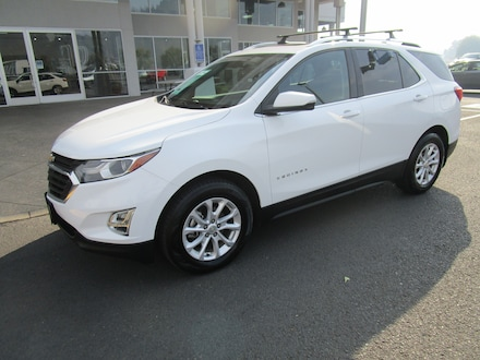 Featured Used 2018 Chevrolet Equinox LT w/3LT SUV for Sale in Cottage Grove, OR
