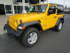 New 2019 Jeep Wrangler SPORT S 4X4 Sport Utility 1C4GJXANXKW558050 for Sale in Cottage Grove, OR