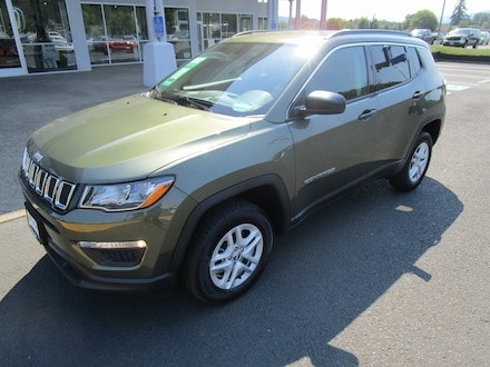 Featured New 2021 Jeep Compass SPORT 4X4 Sport Utility for Sale in Cottage Grove, OR