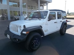 New 2018 Jeep Wrangler UNLIMITED SPORT 4X4 Sport Utility 1C4HJXDG7JW159211 for Sale in Cottage Grove, OR