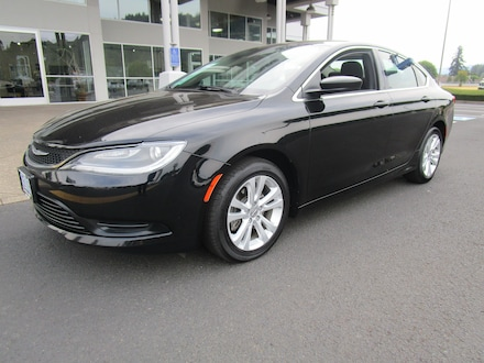 Featured Used 2016 Chrysler 200 LX Sedan for Sale in Cottage Grove, OR